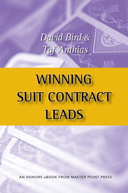Winning Suit Contract Leads, David Bird